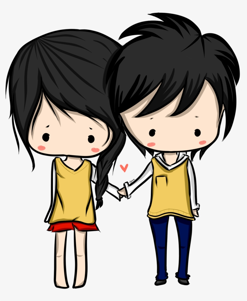 Anime Love Couple Png Hd - Honestly I Don T Want Anyone Else, transparent png #97389