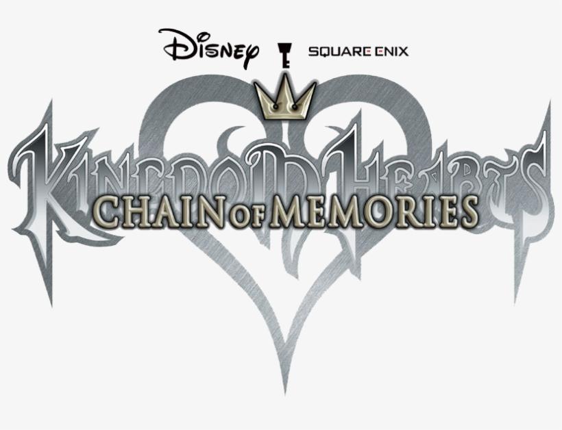 Kingdom Hearts Chain Of Memories Png - Kingdom Hearts Re Chain Of Memories Logo, transparent png #97610