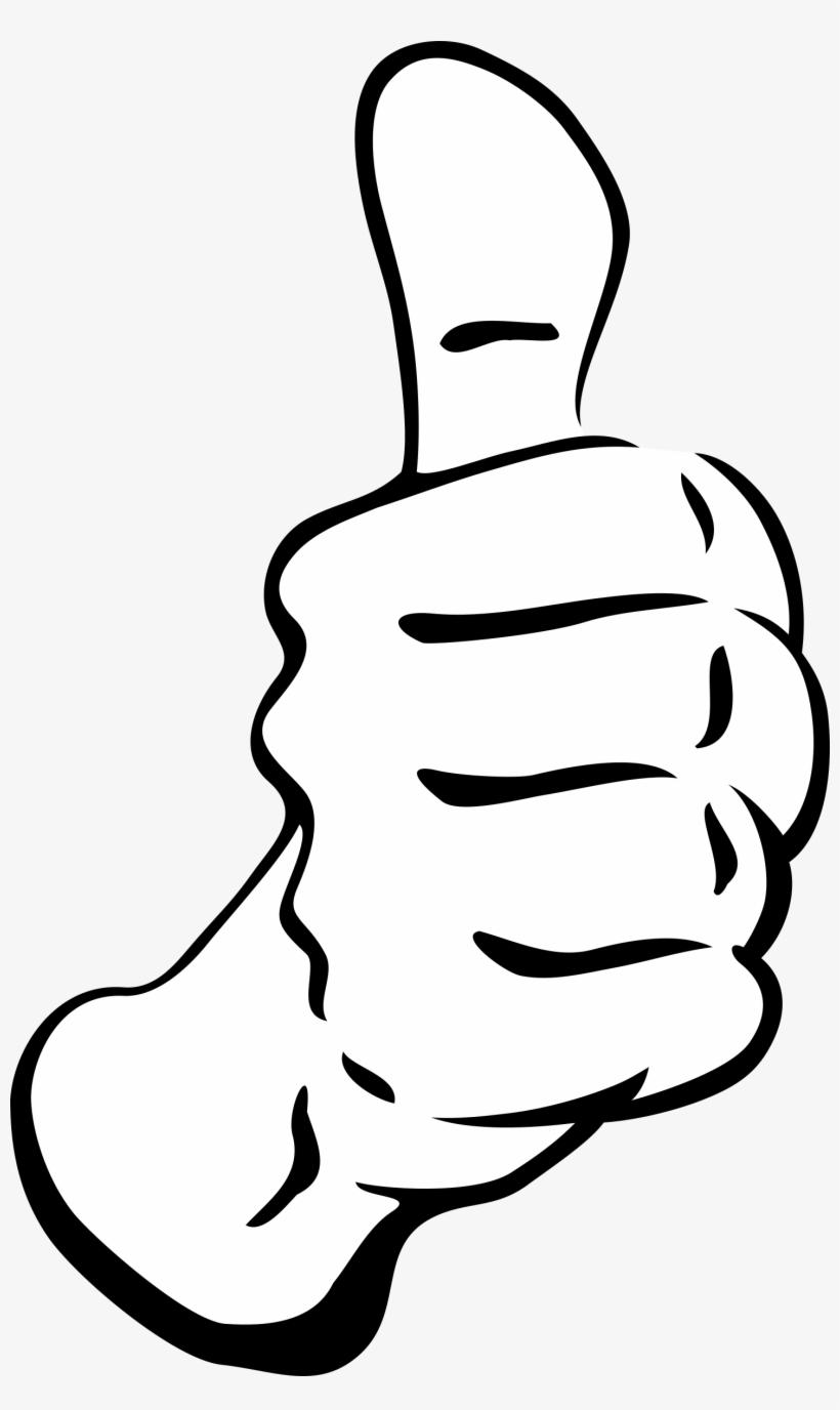 Thumbs Up Transparent - Thumbs Up Clip Art, transparent png #98020
