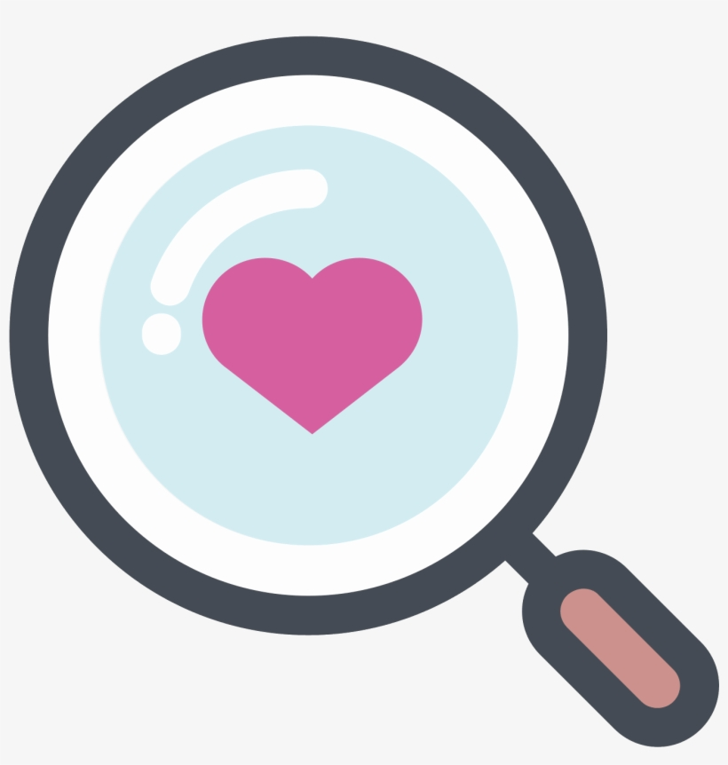 Search For Love Icon - Love Icon Png Free, transparent png #98348