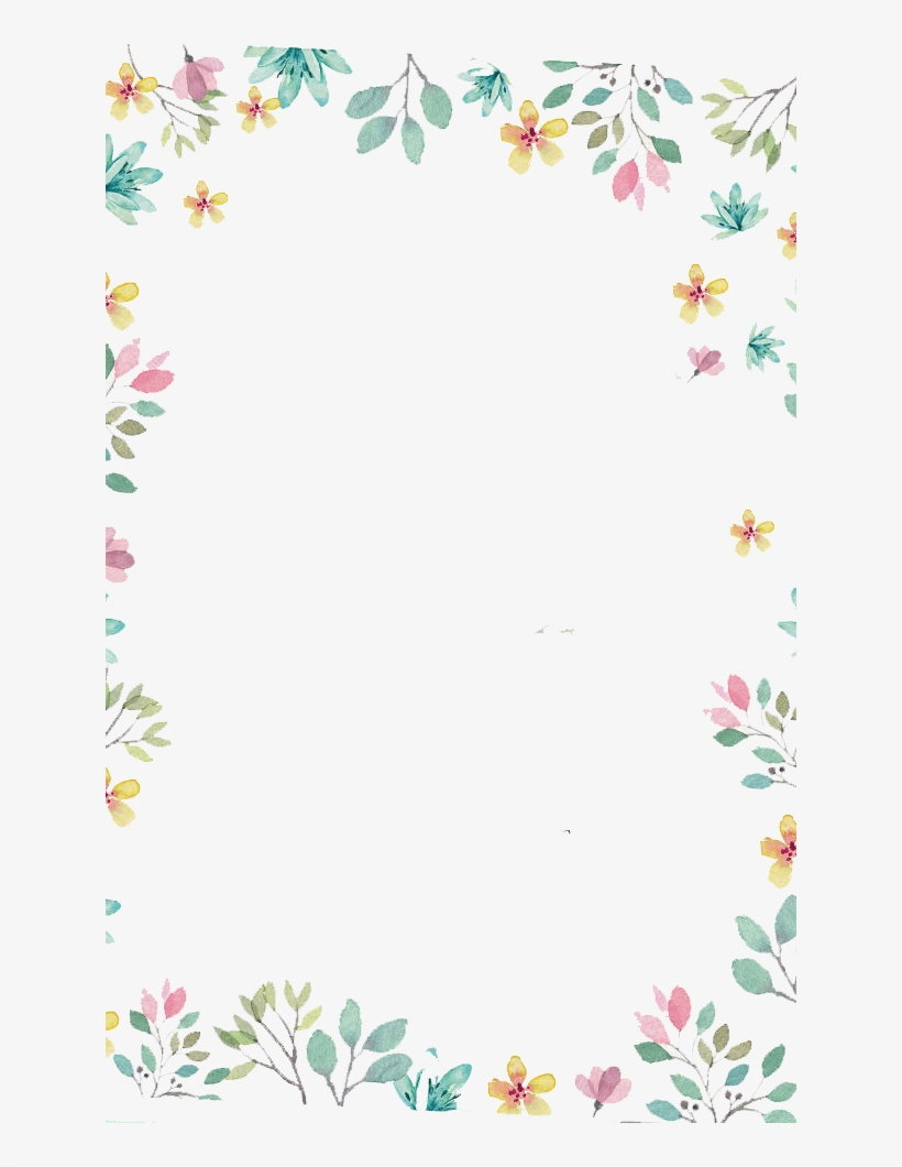 Free Watercolor Winter Floral Wreath Png - 動畫 框, transparent png #99054