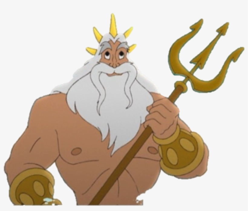 King Triton In The Little Mermaid Ii - King Triton Little Mermaid, transparent png #99192