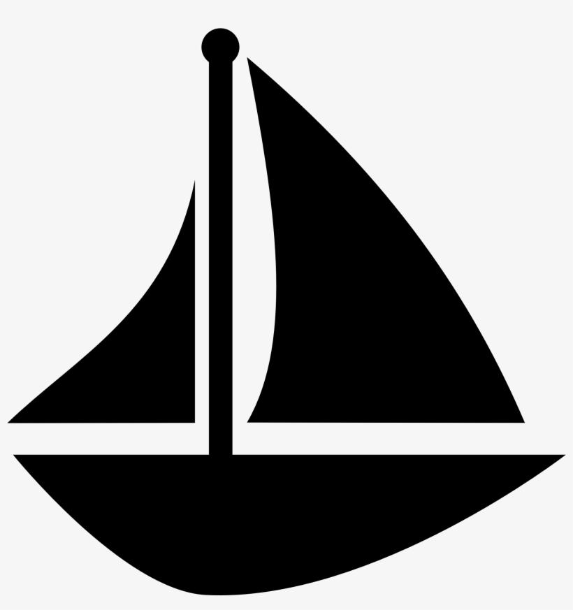 Blue Sailboat Clipart - Sail Boat Clip Art, transparent png #99745