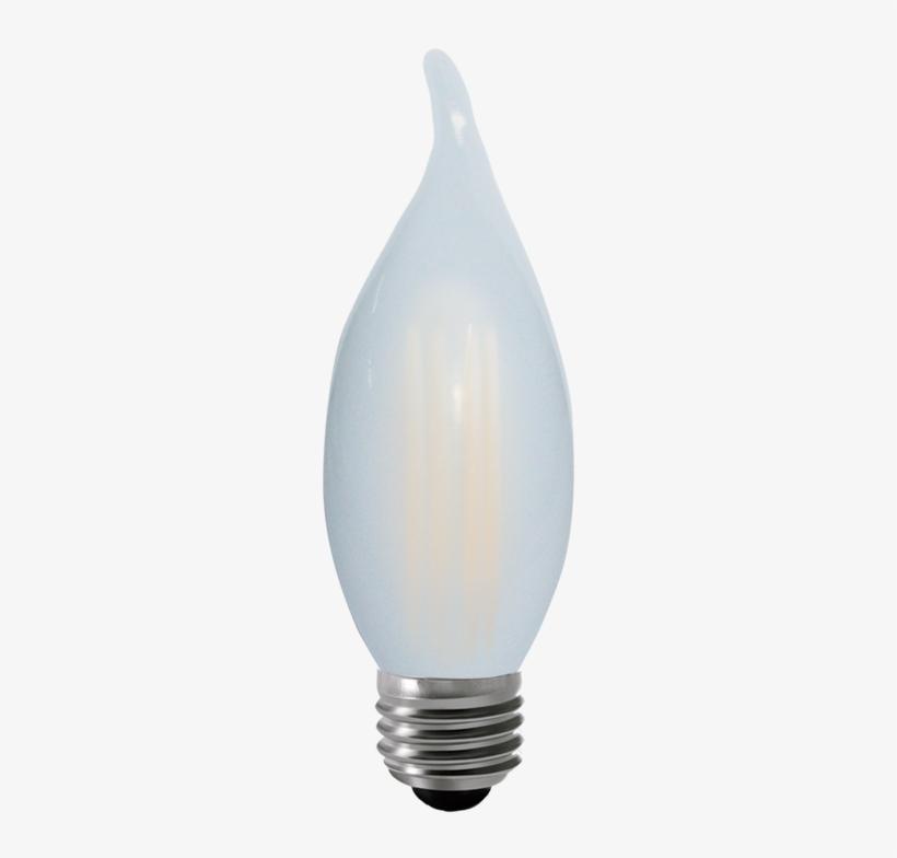 Kodak 55073 4w Candle Flame Tip Frosted 2700k Lightbulbs - Kodak Led Lighting 41121-ul 4w G16.5 Led Light Bulb, transparent png #99918
