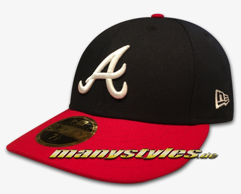 Atlanta Braves New Era Caps - New Era, transparent png #901668