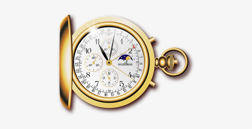 Pocket Watch Fob Watch Open-face Watch Tim - Pocket Watch I Love Jewelry Clocks Gold Funny T Shirt, transparent png #902426