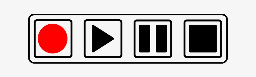 Why The Stop Button Disappeared - Play Pause Record Icons