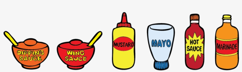 Vector Library Stock Ketchup Mustard Clipart - Ketchup Mustard Mayo Hot Sauce, transparent png #903178