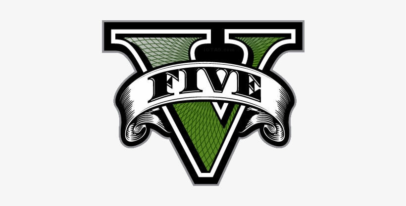 Grand Theft Auto 5 Is One Of The Most Anticipated Games - Gta 5 Logo Jpg, transparent png #904701