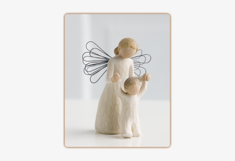 Jacques Flower Shop - Willow Tree Guardian Angel Figurine, transparent png #905738