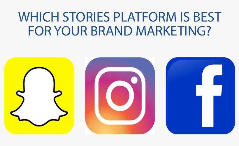 Facebook Instagram Snapchat - Facebook Instagram Snapchat Png, transparent png #906300