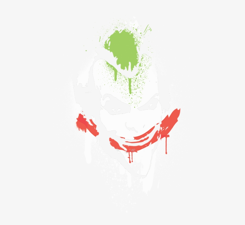 Click And Drag To Re-position The Image, If Desired - Arkham Asylum Smile Spray Paint, transparent png #908077