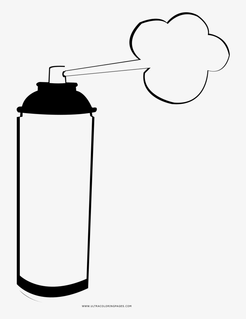 spray can coloring pages-#30