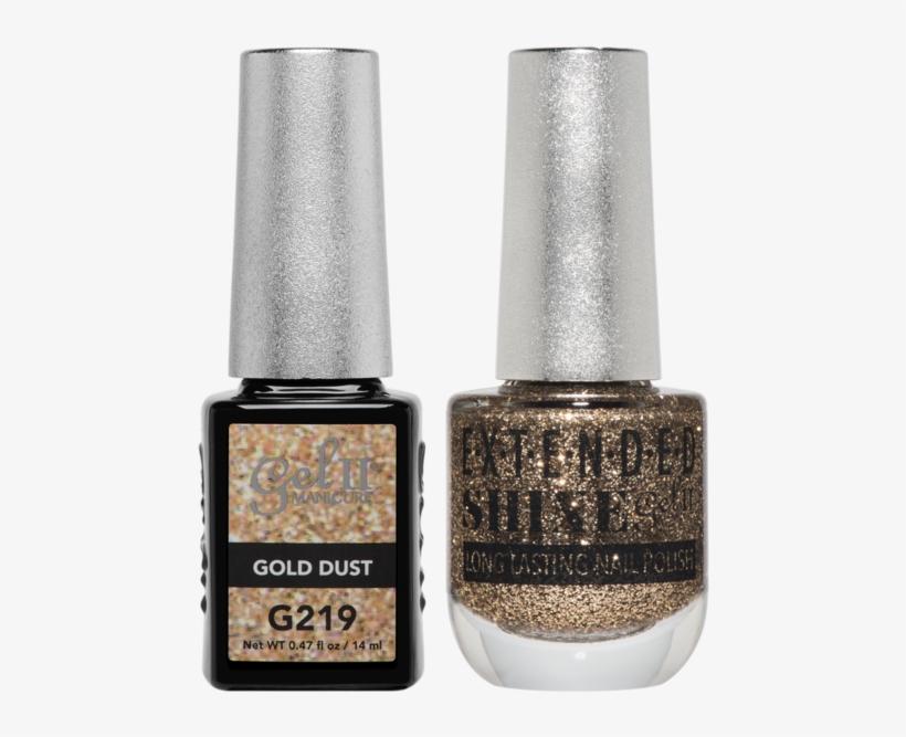 La Palm - Gold Dust Nail Polish, transparent png #909923