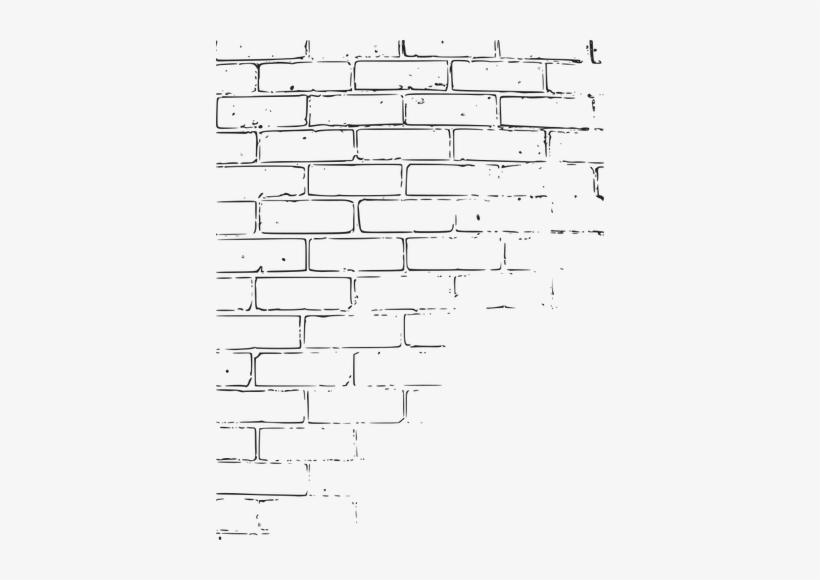Brick Wall Border Clip Art - Brick Wall Clipart, transparent png #909979