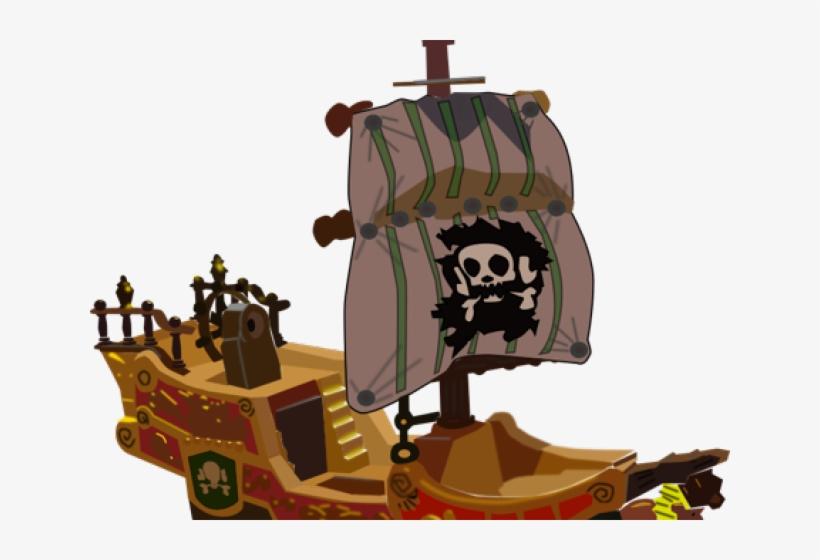 Viking Ship Clipart Scribblenauts - Pirate Ship Transparent, transparent png #9000675