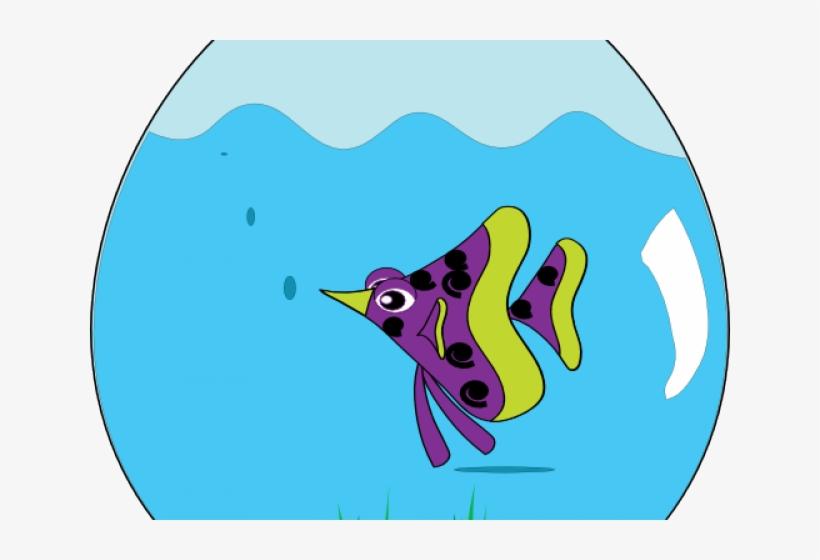 Original - Fish Bowl Clipart Png, transparent png #9001427
