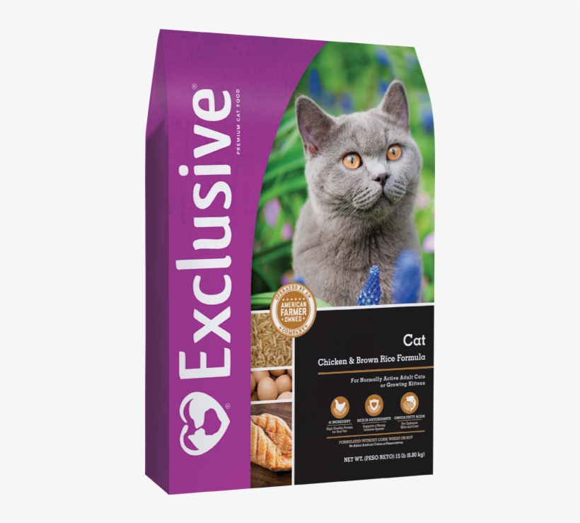 Exclusive Chicken & Brown Rice Formula For Cats - Exclusive Puppy Chicken & Brown Rice Formula, transparent png #9003821