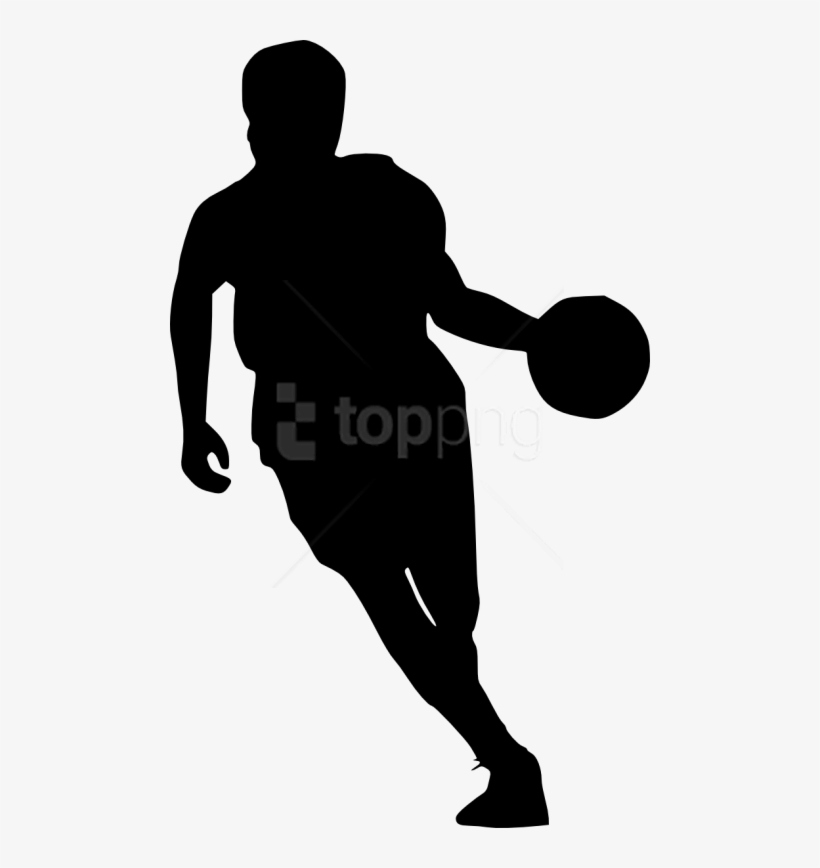 Free Png Basketball Player Silhouette Png Images Transparent - Transparent Basketball Player Silhouette, transparent png #9009281
