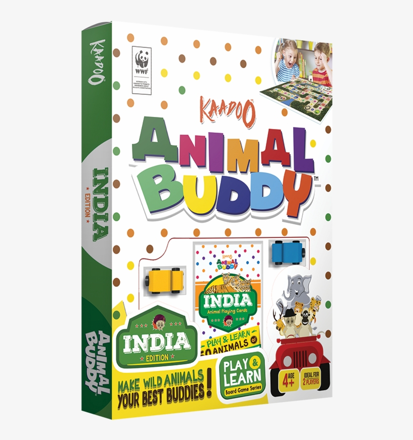 Animal Buddy -india Edition Board Game - Board Game, transparent png #9010480