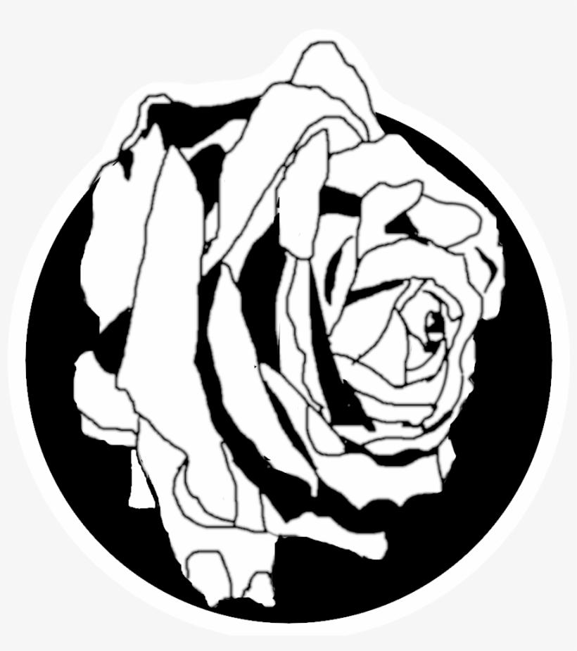 Rose Logo Web Ui Design Flower Crown Flower Illustration - Garden Roses, transparent png #9021851