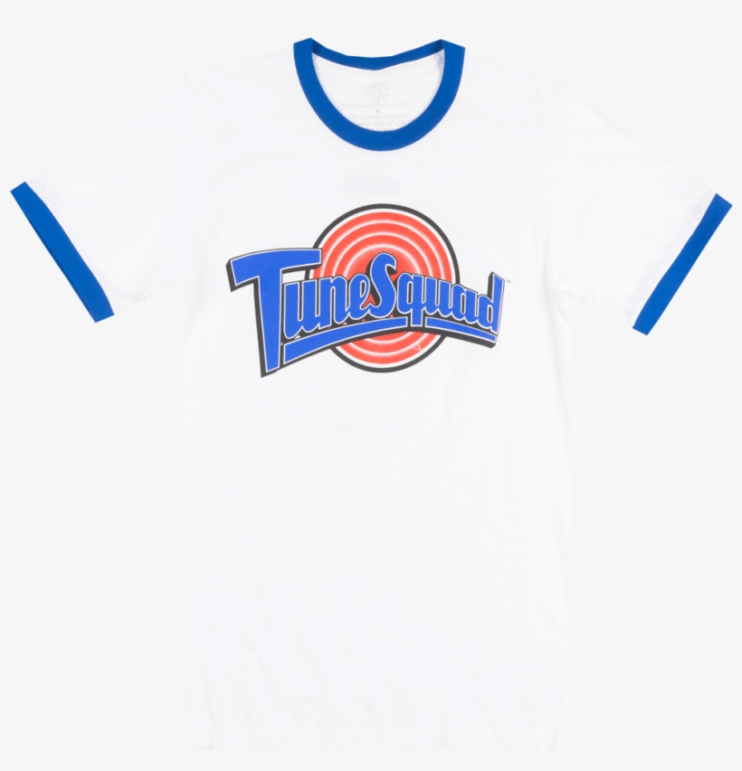 Looney Tunes Space Jam Tunes Squad T-shirt White Mens - Tune Squad, transparent png #9024909