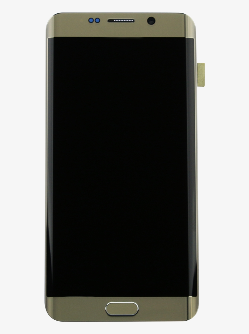 Samsung Galaxy S6 Edge G928f Gold Display Assembly - Mobile Screen Frame, transparent png #9026972