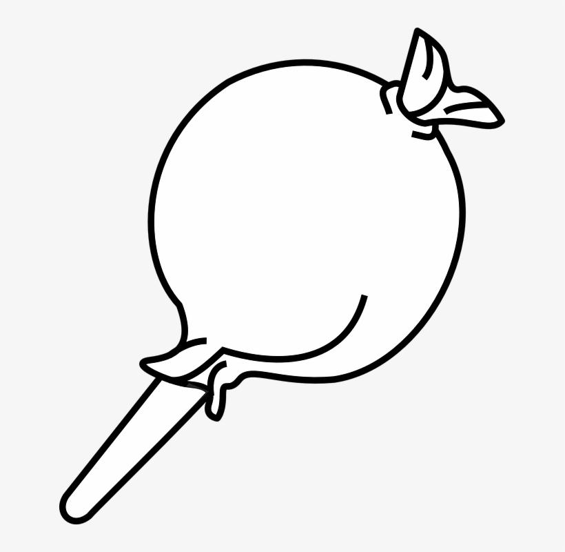 Lollipop Clipart Gambar Gambar Permen Hitam Putih Free Transparent Png Download Pngkey