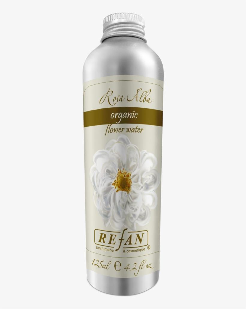 Organic Bulgarian White Rose Water Toner - Refan Flower Water, transparent png #9028379