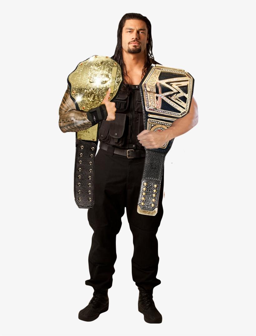 Wwe World Heavyweight Champion Roman Reigns - Wwe Roman Reigns Full, transparent png #9030215