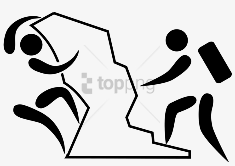 Free Download Olympic Pictogram Mounaineering And