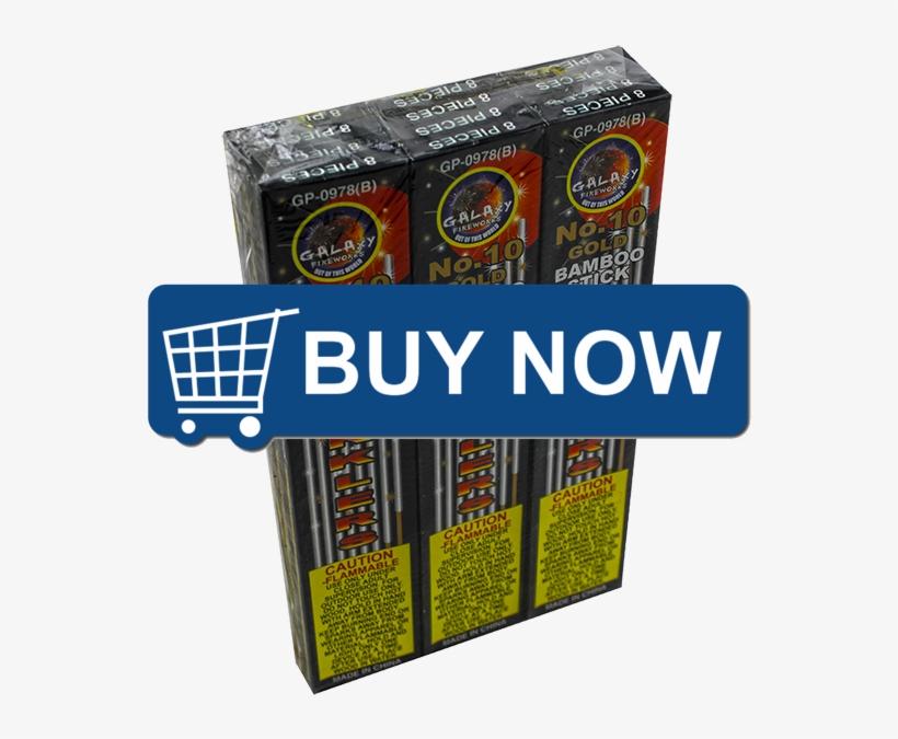 No 10 Gold Sparkler Copy - Buy Now Button, transparent png #9034180