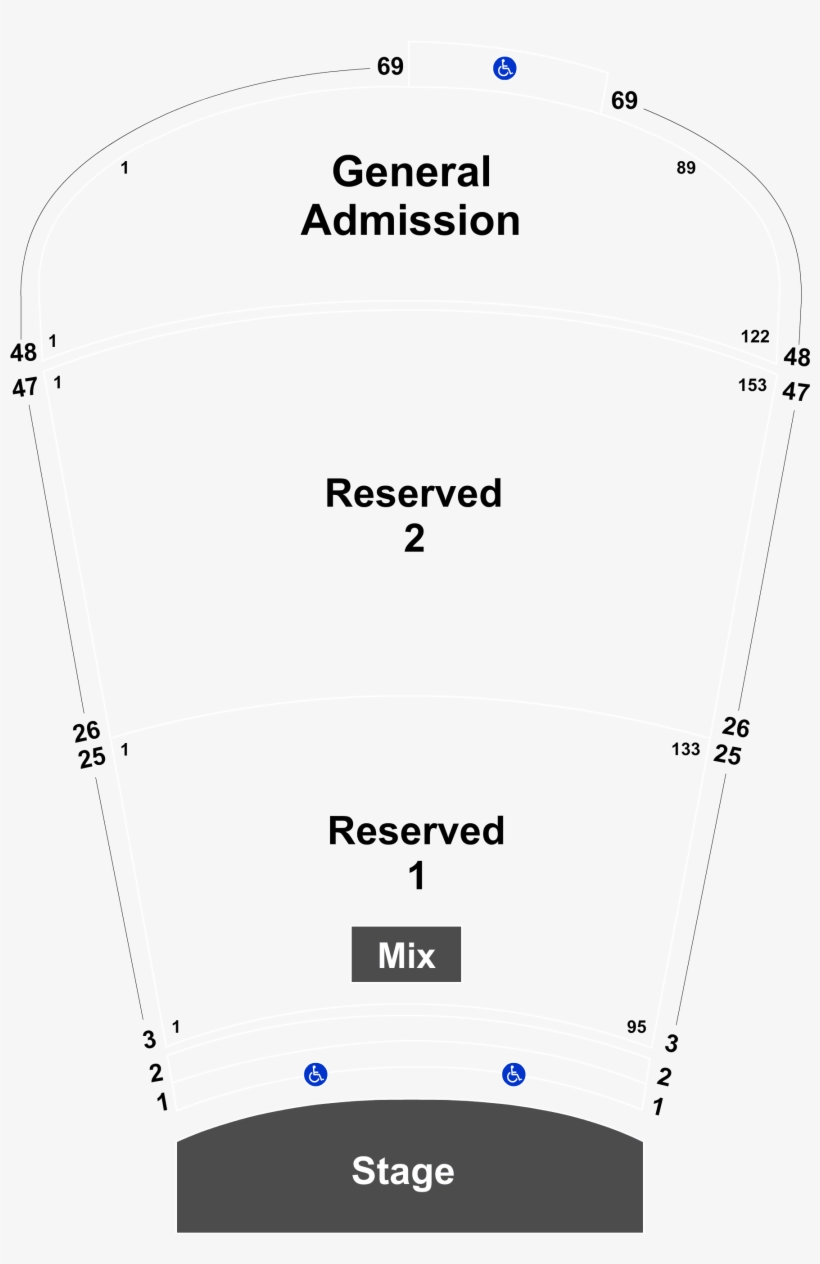 Red Rocks Amphitheater Seating Chart
