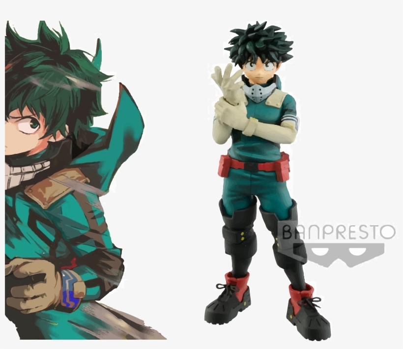 Banpresto My Hero Academia Age Of Heroes Vol - My Hero Academia Age Of Heroes Deku Figure, transparent png #9035795