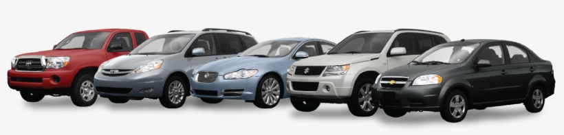 Used Car Buyer Melbourne - Used Cars Line Up, transparent png #9047387