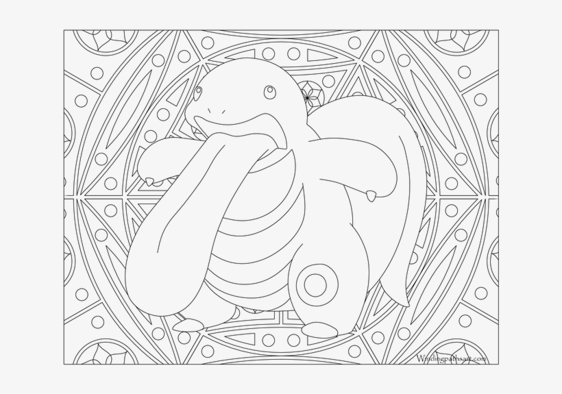 Lickitung Pokemon - Pokemon Adult Coloring Pages, transparent png #9052034