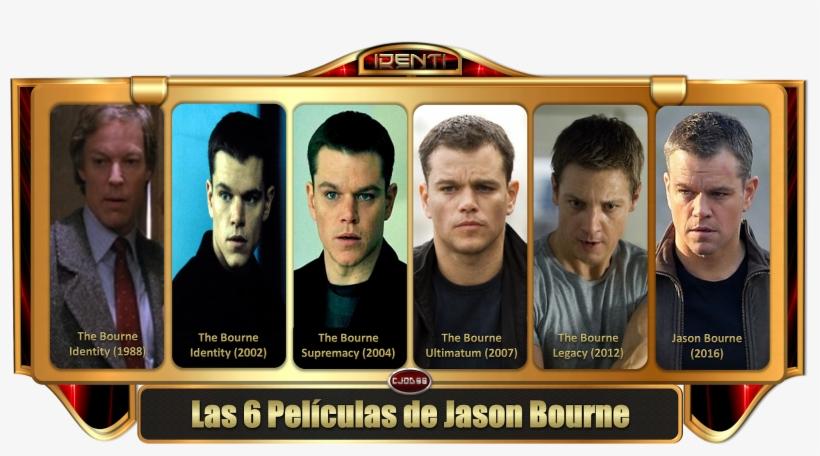 - El Password Es Siempre El Mismo Que Uso En Todos - Peliculas De Jason Bourne, transparent png #9056095