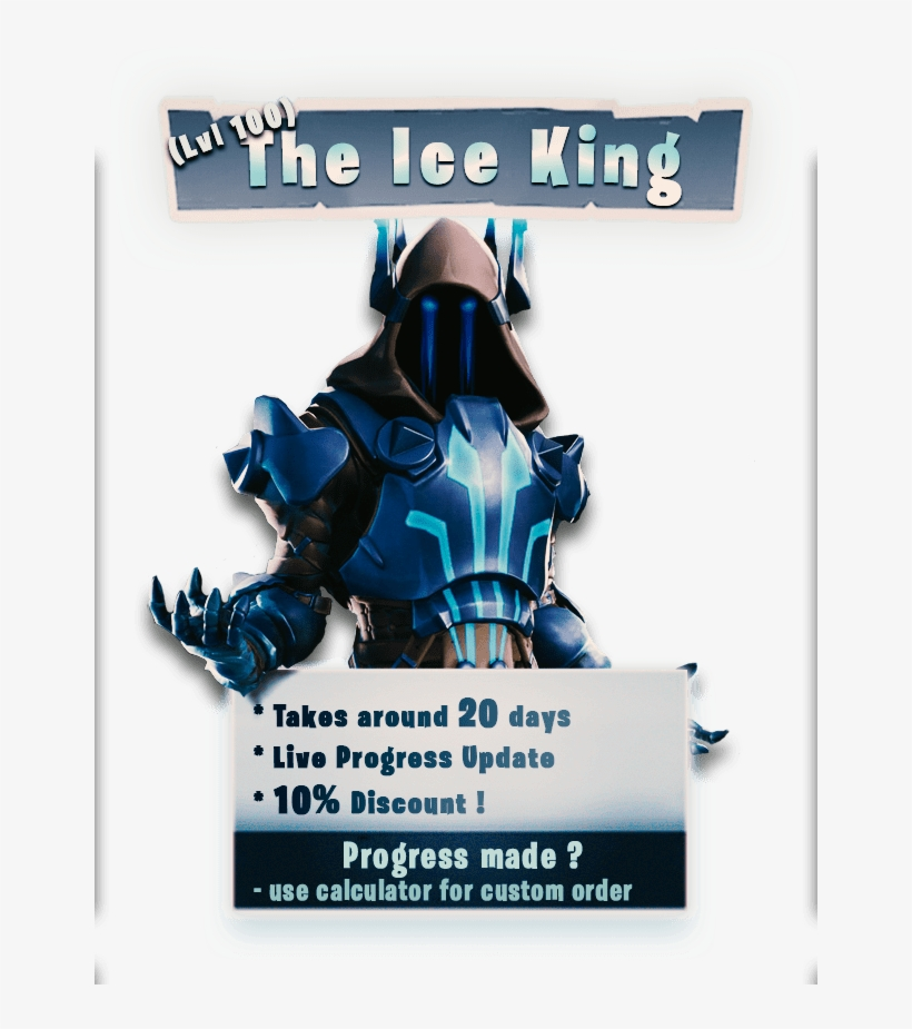 How To Download Fortnite On S7 The Ice King Fortnite S7 Roi Des Glaces Fortnite Free Transparent Png Download Pngkey