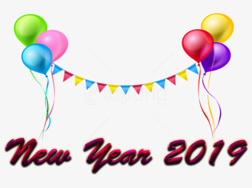 Free Png New Year 2019 Png Images Transparent - Happy New Year 2019 Free Download, transparent png #9069519