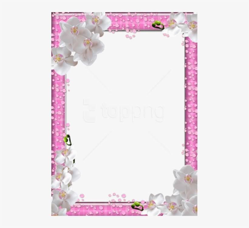 Free Png Best Stock Photos Cute Png Pink Photo Frame - Pink Frame Background Png, transparent png #9074419