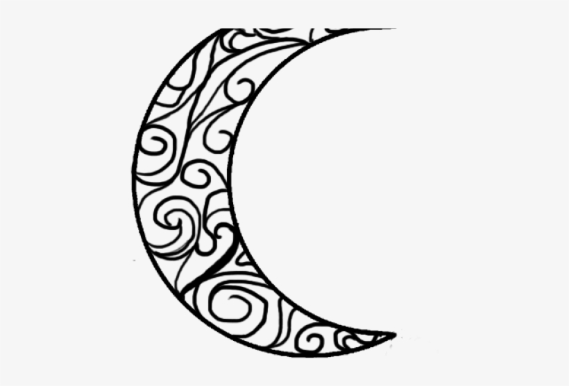 Drawn Moon Crescent - House Of Night Moon Tattoo, transparent png #9079915
