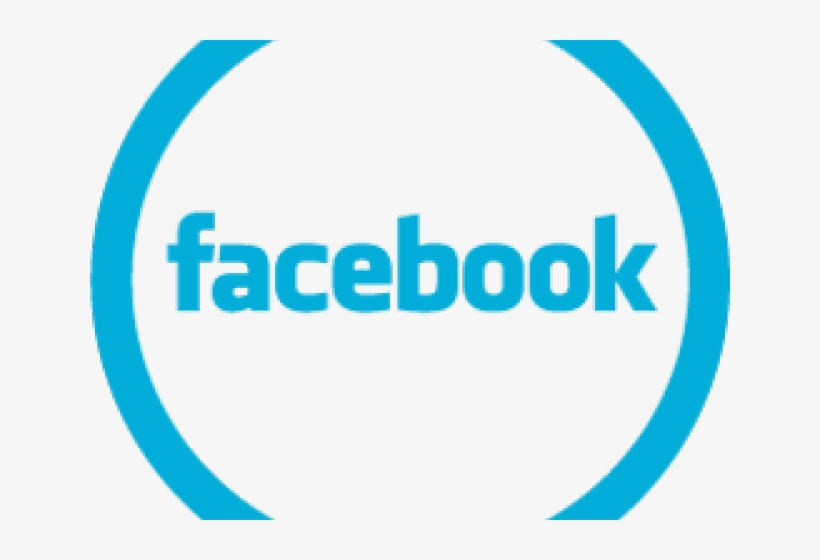 Circle Clipart Facebook - Us On Facebook, transparent png #9080148