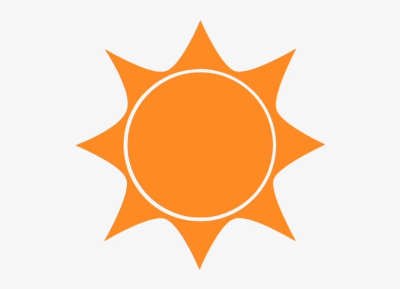 Sun Icon - Weather Report Sun, transparent png #9081651