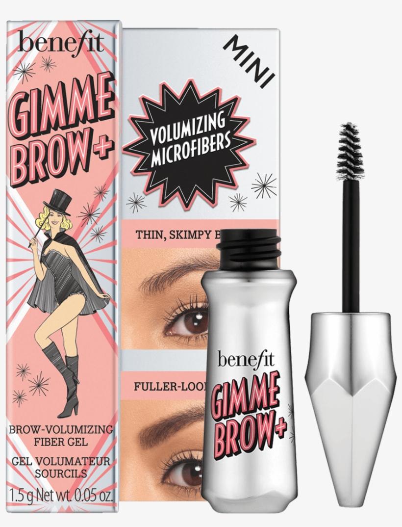 Benefit Gimme Brow Volumizing Eyebrow Gel, transparent png #9082601