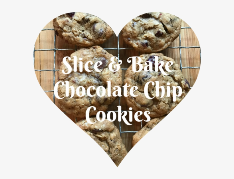 Sliced Chocolate Chip Cookies - Chocolate Chip Cookie, transparent png #9086768