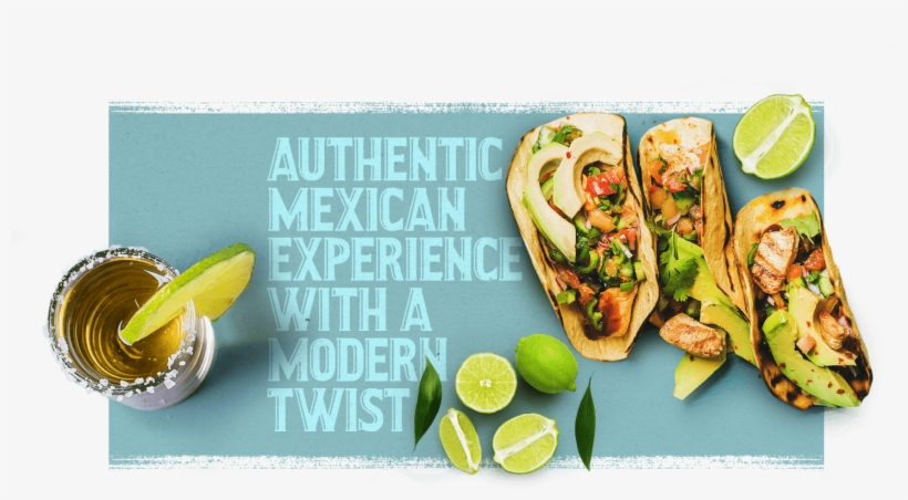 Authentic Mexican Experience With A Modern Twist - Lime, transparent png #9089151