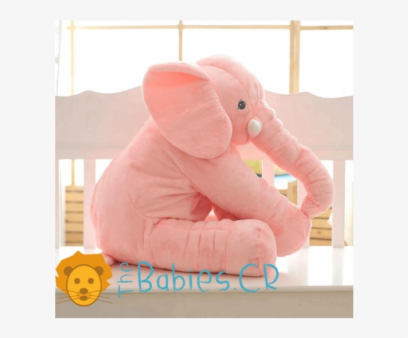 Almohadón Elefante Para Bebé - Seccion De Fotos De Bebes Con Elefantes, transparent png #9089218