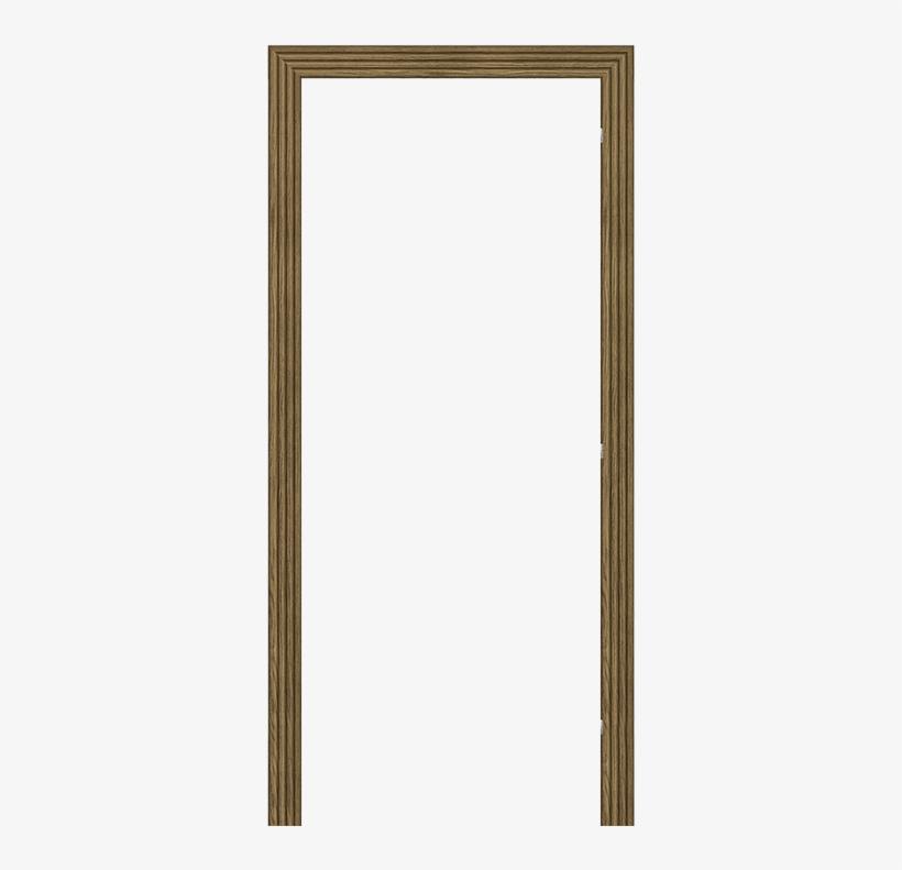 Door Frame Png - Old Wooden Door Frame, transparent png #9091030