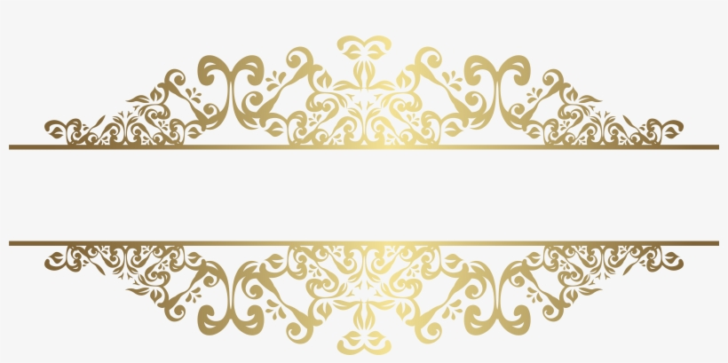 Decorative Elements Png Clip Art Gallery Yopriceville - Gold Decorative Ornaments Png, transparent png #910427