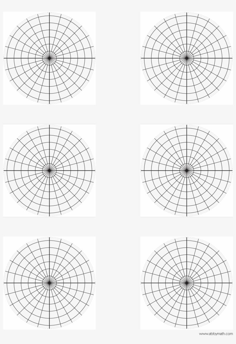 polar plane graph paper main image